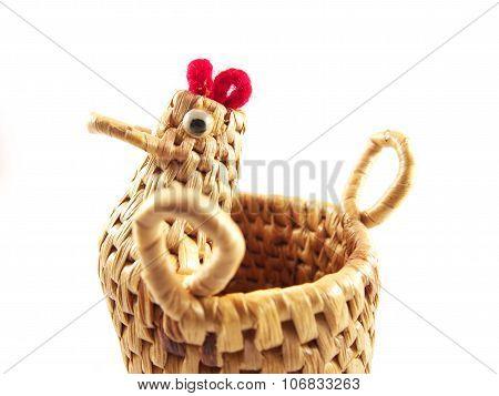 Chicken Head Shape On Basket