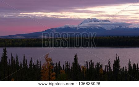 Willow Lake Southeast Alaska Wrangell St. Elias National Park