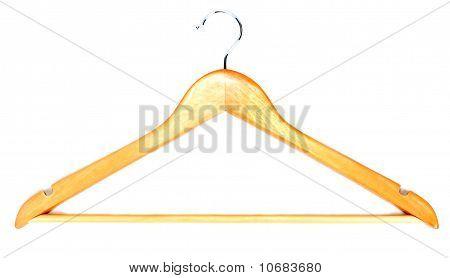 Wooden Hatrack With Steel Hook