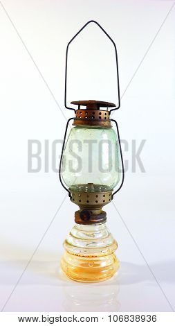 Oil Lamp Small Glass