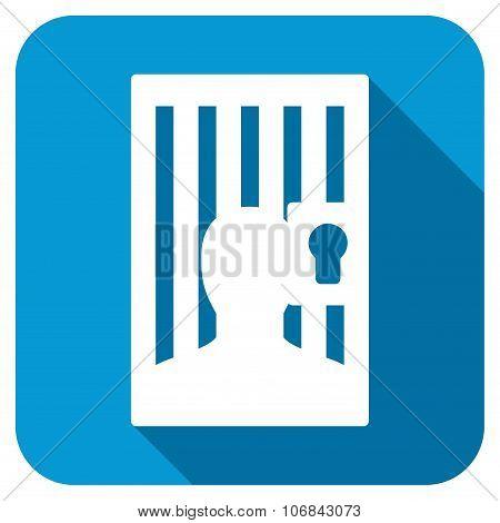 Prison Door Longshadow Icon