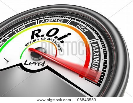 Roi Level To Maximum Conceptual Meter