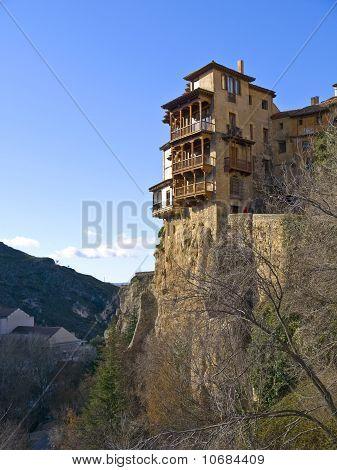 Casas Colgadas (hanging Houses) In Cuenca