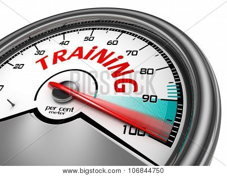 Training Level To Hundred Per Cent
