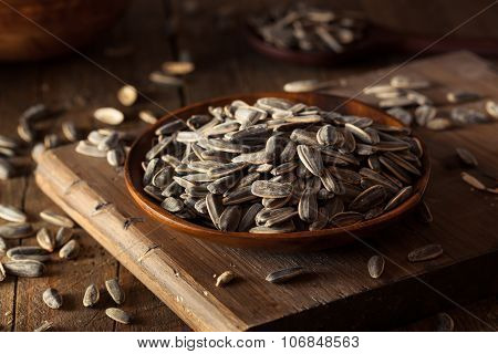 Organic Salted And Roasted Sunflower Seeds