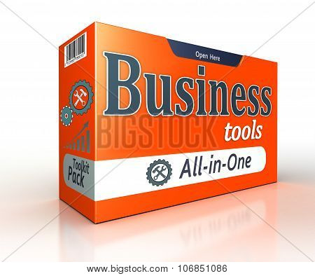 Business Tools Orange Pack Concept