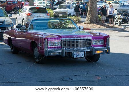 Cadillac Eldorado Convertible On Display