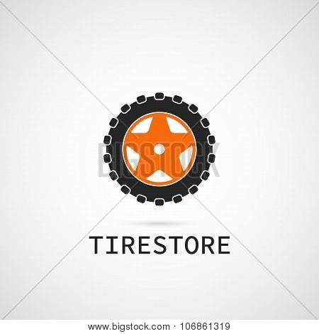 Tire Store Logo Template