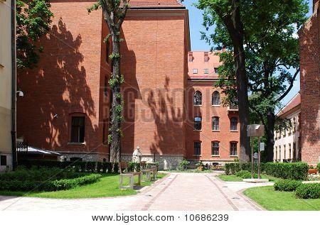Collegium Maius In Cracow, Poland