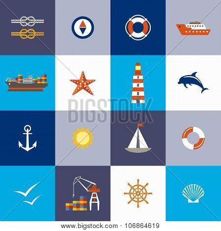 Sea Subject. Port.