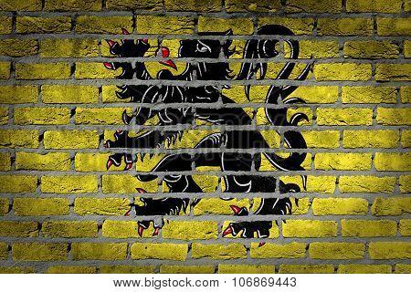 Dark Brick Wall - Flanders