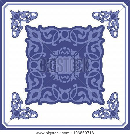 Seamless elegant Ornamental pattern.