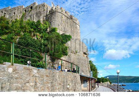 Sea Fortress (forte Mare), Herceg Novi, Montenegro