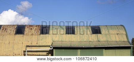 Corrugated Iron Shed,