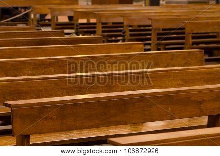 Wood Pews