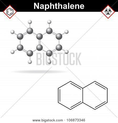Naphthalene Molecule