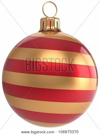 Christmas Ball New Year's Eve Bauble Adornment Decoration