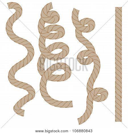 Rope Set Isoated