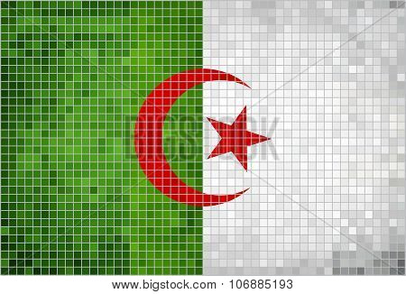 Flag Of Algeria.eps