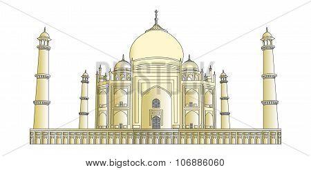 Taj Mahal in very high detail