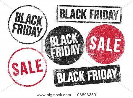 Black Friday Stamps