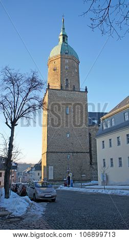Hall church in Saxony