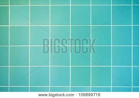 Turquoise Wall Background