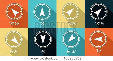 The Compass Icons