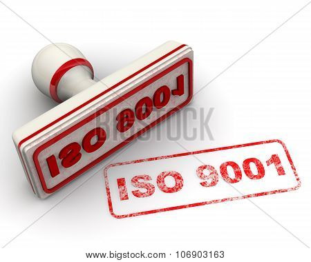 ISO 9001. Seal and imprint