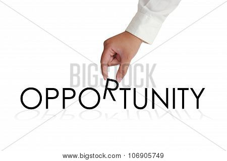 Opportunity Typography Concept