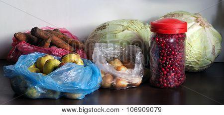 Harvest of the village