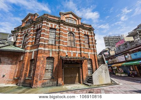 The Red Chamber Theater In Taipei, Taiwan