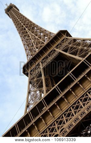 Eiffel Tower Low Angle