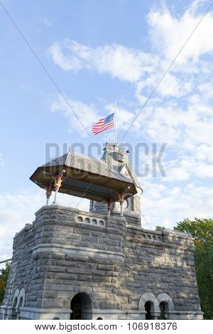 Top Of The Belvedere Castle