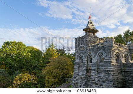 Lateral View Of The Belvedere Castle