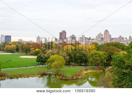 Fall Season From The Belvedere Castle