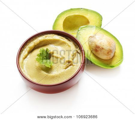 Food. Hummus out of avocado