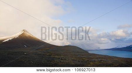 Svalbard. Gronfjorden.
