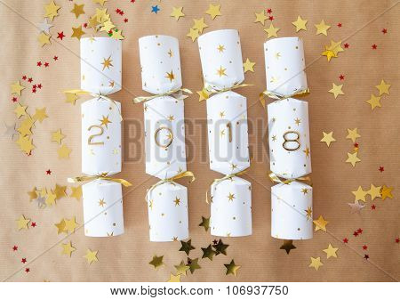 Party Cracker With 2018