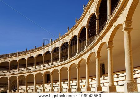 The Plaza De Toros, in Ronda, Spain
