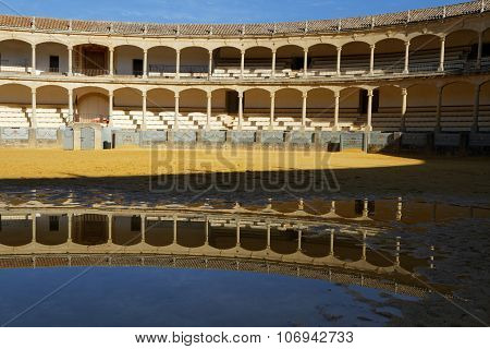 Inside The Plaza De Toros De Ronda
