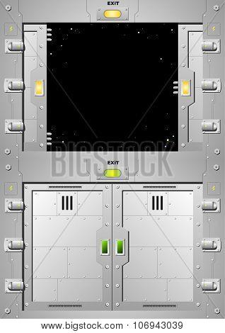 Sliding Steel Door 3