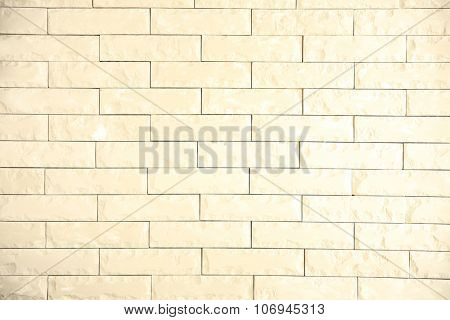 Whitening brick wall background