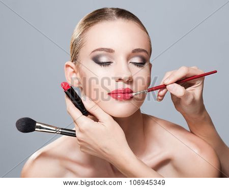Gorgeous In Makeup.