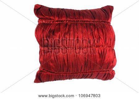 Red Luxurious Pillow