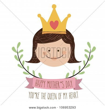 mothers day , vector illustration