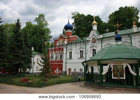 Pskovo-Pechersky Monastery.  Russia.
