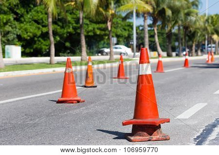 Road Construction Works