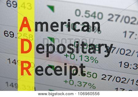 American depositary receipt