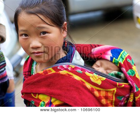 H'mong Ethnic Minority People Vietnam